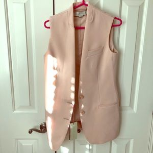 Stella Mcartney pink vest NWT sz 40